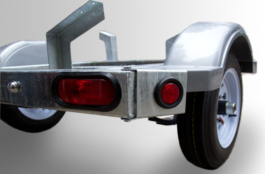 Full Rear Bumper with Sealed Lights
